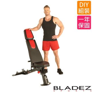 【BLADEZ】F2708高耐重可調式重量訓練椅